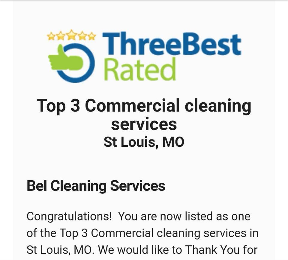 Bel Cleaning Services St Louis | commercial and residential